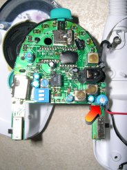 Capacitor location on the receiver