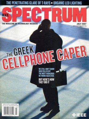 IEEE Spectrum cover