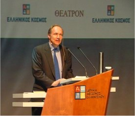 Tim Berners-Lee Addresses the First Web Science Conference