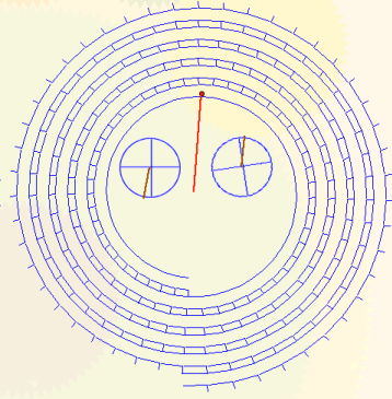 The Metonic calendar with the Callippic and Olympiad dials