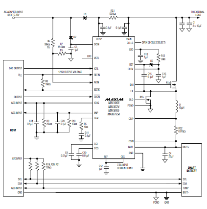 Max8724 circuit diagram