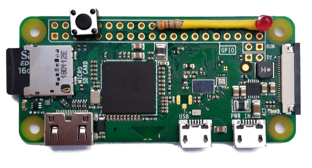 Figure 5: Assembled Raspberry Pi