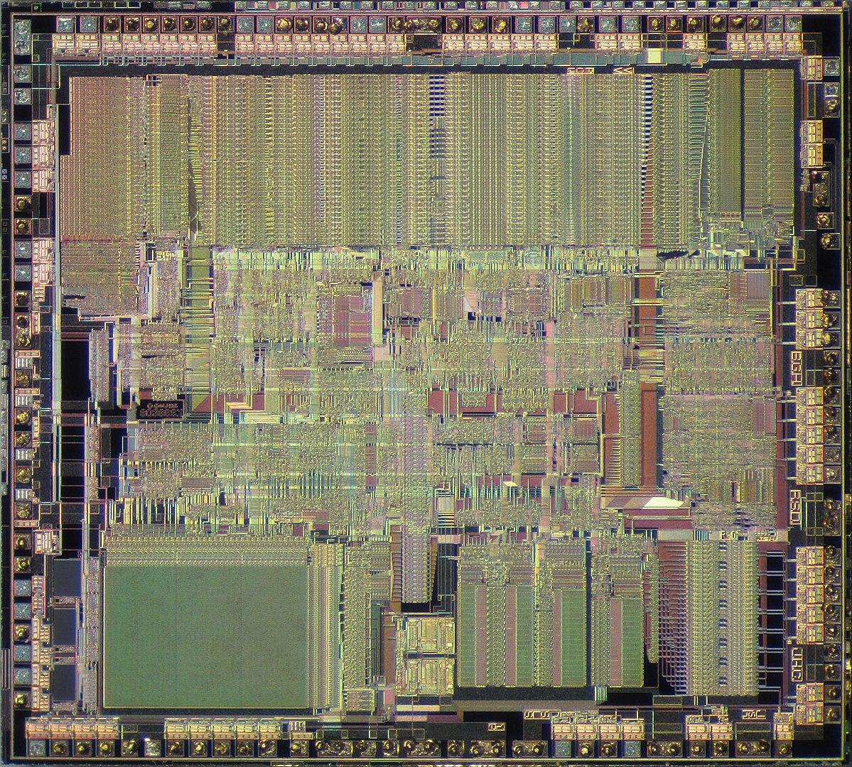 The Intel 386 die — By Pauli Rautakorpi - Own work, CC BY 3.0