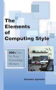 Book cover of The Elements of Computing Style