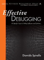 Book cover of Effective Debugging