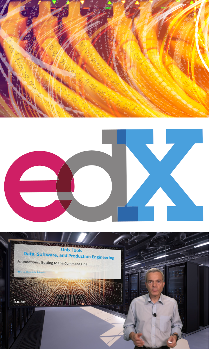 edX MOOC on Unix Tools: Data, Software, and Production Engineering